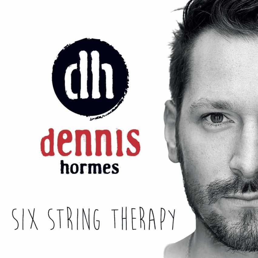 Dennis Hormes - Six String Therapy Artwork