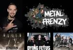Metal Frenzy Logo, Robert, und Headliner