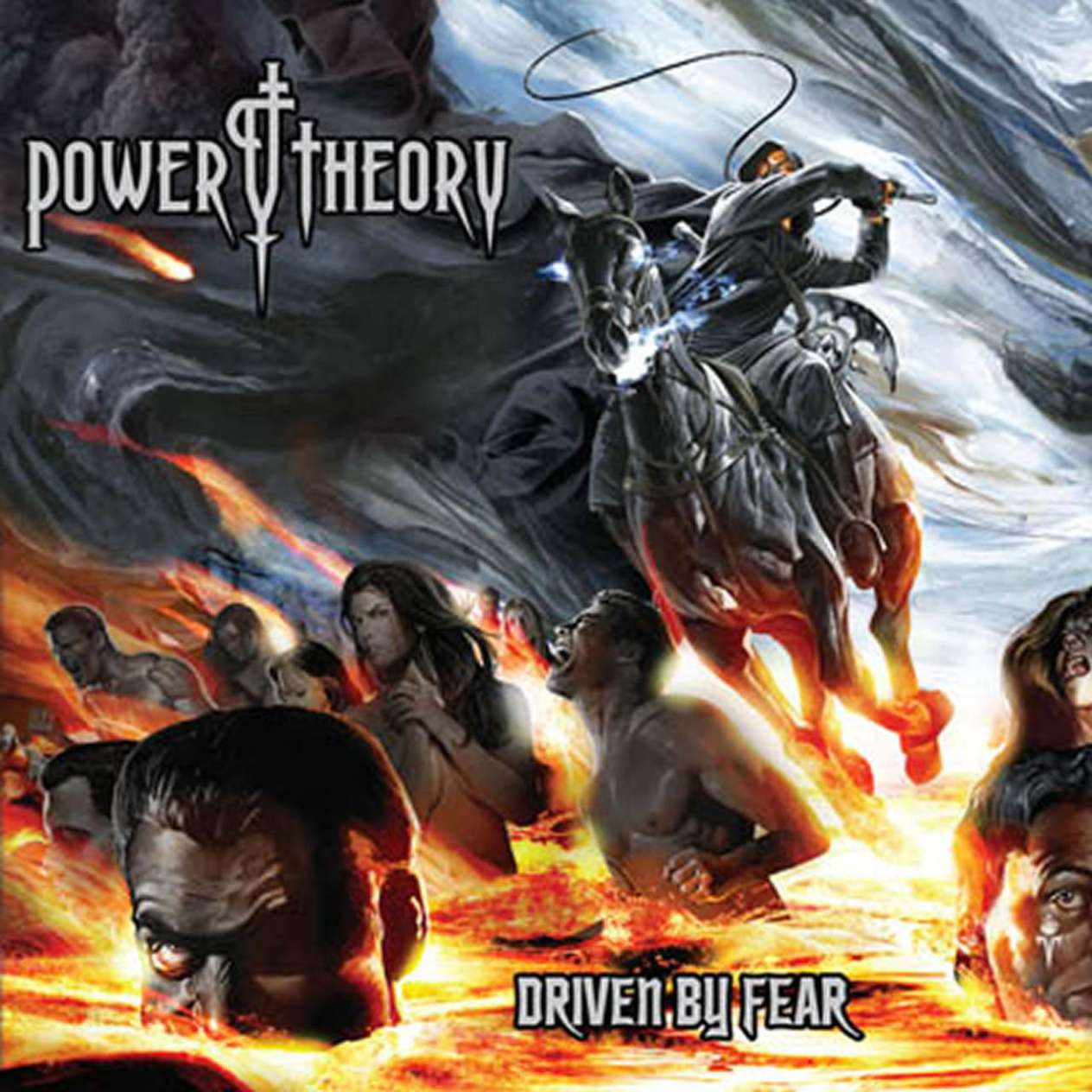 Power Theory - Driven By Fear Artwork