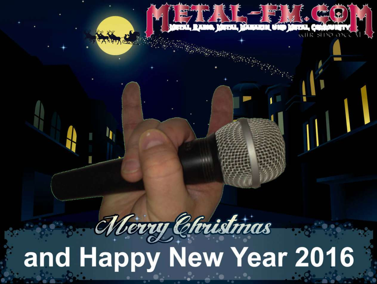 Merry Christmas and happy New Year 2016