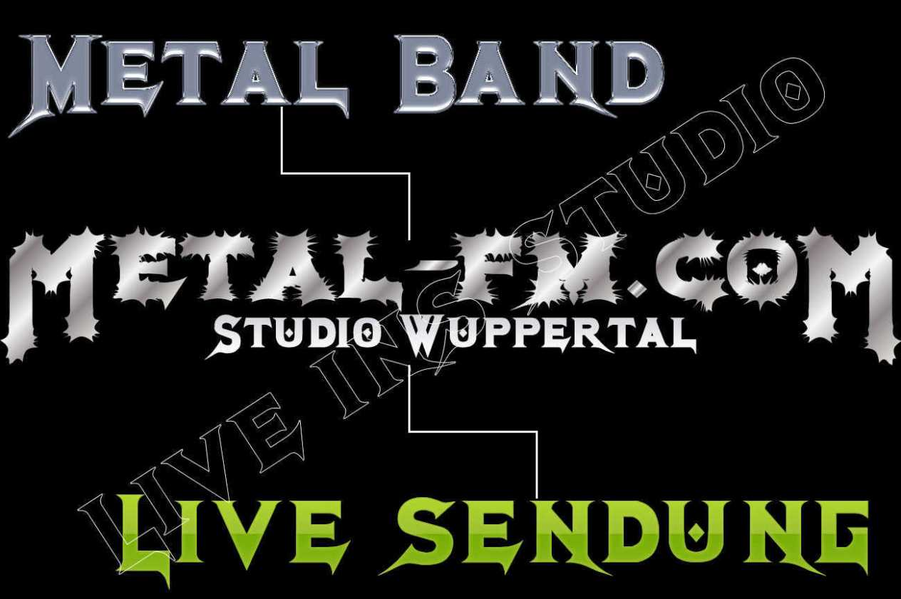 Metal Bands Live ins Metal Radio Studio