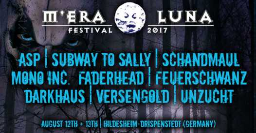 M'era Luna Flyer 2017