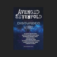 In Flames - Avenged Sevenfold Tour Flyer